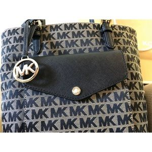 Michael Kors Bags - $258 Michael Kors Jet Set Handbag MK Purse Bag